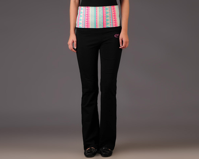 Aztec pastel rollover track pants thumb