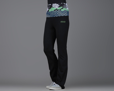 Lotus waves rollover track pants thumb