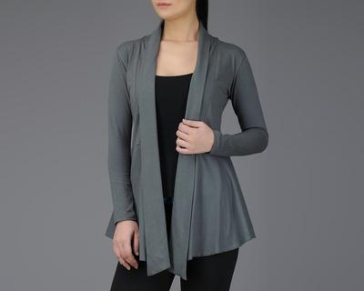 Grey full sleeve cotton wrap thumb