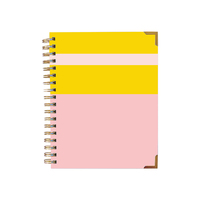 Color block diary small