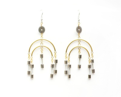 Fuse chandeliers earrings medium thumb