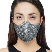 Printed grey mask small