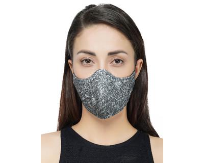 Printed grey mask thumb