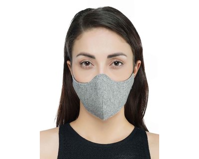 Lurex melange mask thumb