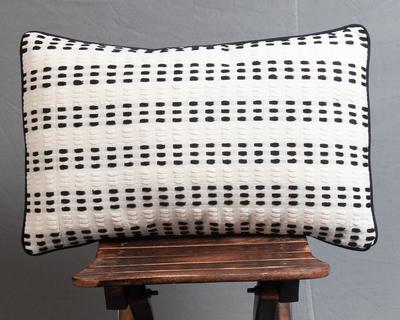 Matimaison chloe blanche lumbar cushion cover thumb