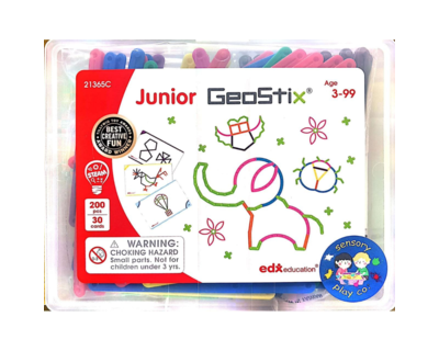 Junior geostix 200 flexible sticks 30 double sided activity cards thumb