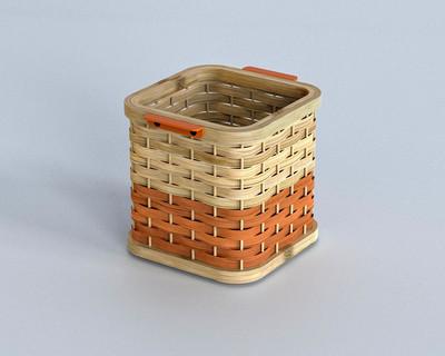 Bamboo desk baskets thumb
