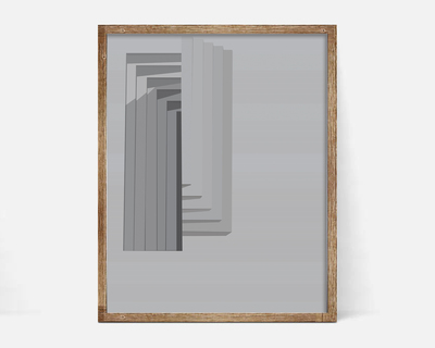 Boxes carlo scarpa wall art thumb