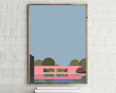 Cuadro san cristobal luis barragan wall art thumb