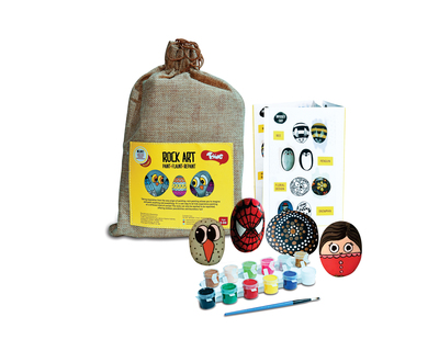 Toiing rock art kit creative reusable rock painting kit thumb
