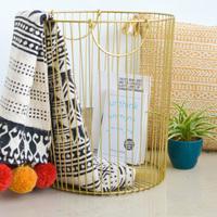 Camilla basket gold small