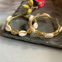 Shell hoops large small