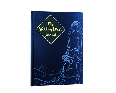 Wedding dress journal planner for the bride to be thumb