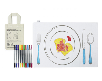Placemat to go meal time fun thumb