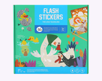 Flash stickers the ugly duckling thumb