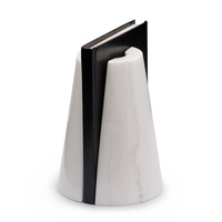 Monumental bookends white small