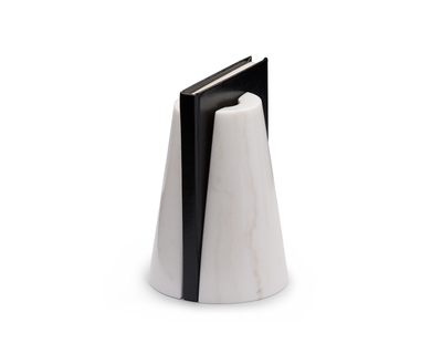 Monumental bookends white thumb