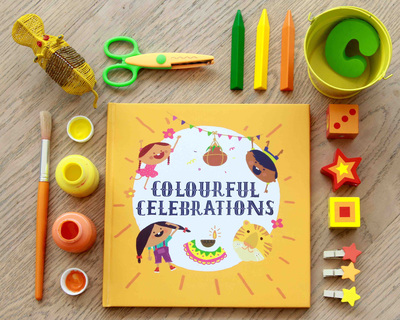 The book of colourful celebrations thumb