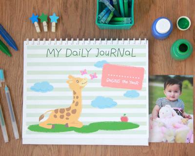 My daily journal a diy calendar thumb