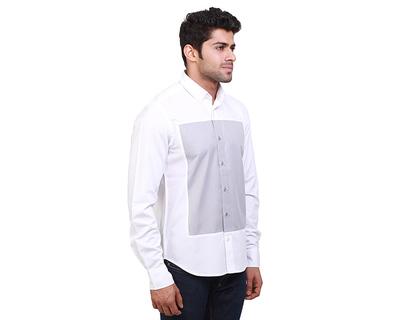 Oasis white minimal shirt thumb
