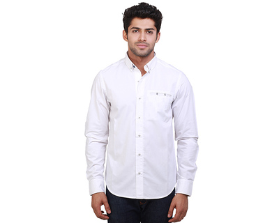 Hula island print cotton shirt thumb