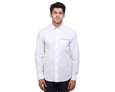 Sven stripe print cotton shirt thumb