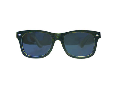Dark oak wooden sunglasses thumb