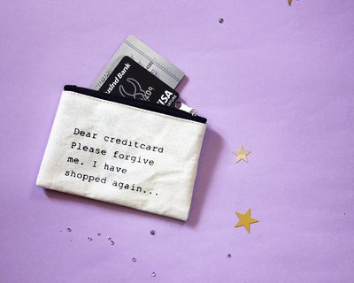 Credit card pouch thumb