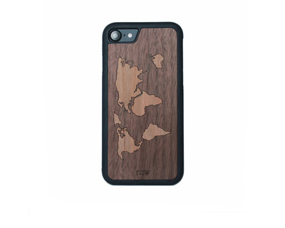 Raw walnut traveler case 7 6 6s 5s 5se thumb