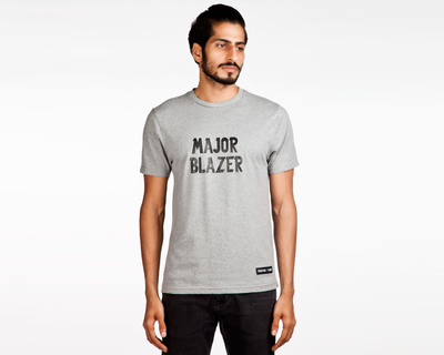 Major blazer mzlange grey t shirt thumb