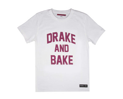 Drake and bake white t shirt thumb