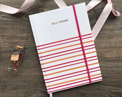 Hello sunshine hardbound journal thumb