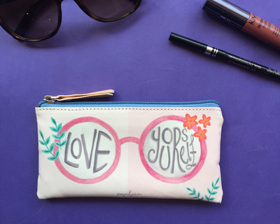 Love yourself sun glass pouch thumb