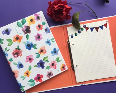 Fleur mini folder notebook thumb