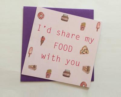 I d share my food thumb