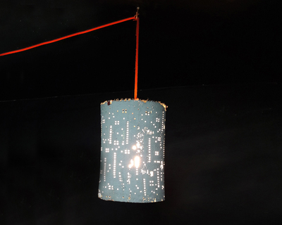 Meshed up pendent lamp thumb