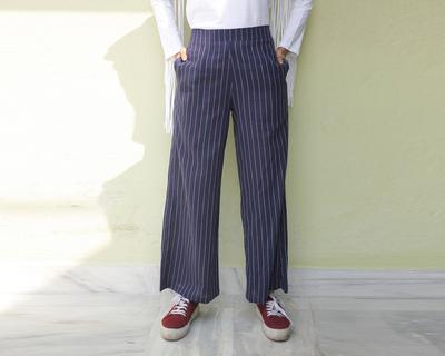 Tall stripe palazzo pants thumb