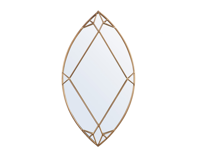 Marquise cut diamond mirror thumb