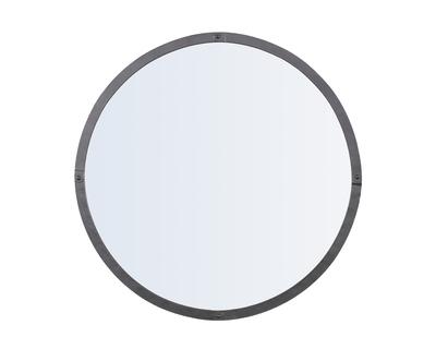 Rivet round mirror thumb