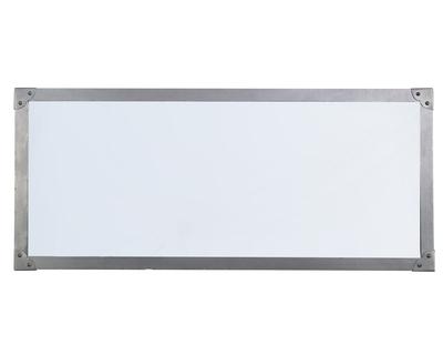 Rivet rectangular mirror thumb