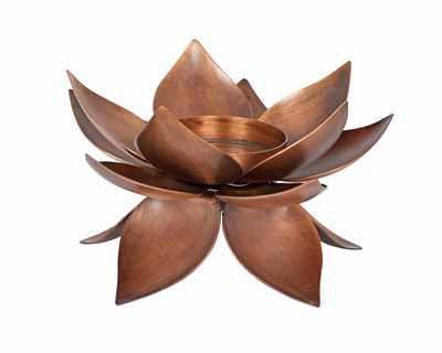 Lotus single tea light holder thumb