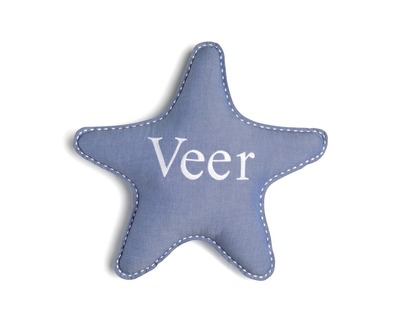 Personalised star pillow thumb