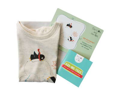 The swimming penguin tee thumb