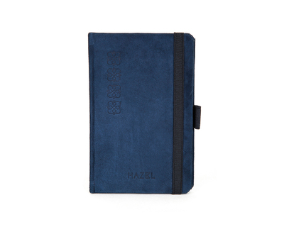 Suede pocket notebook thumb