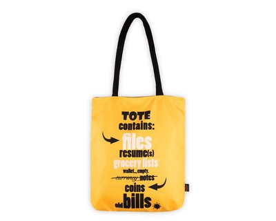 Unemployed canvas totebag thumb