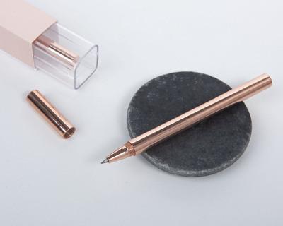 Rose gold pen desk accessories thumb