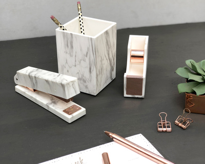 Marble metallic desktop collection thumb