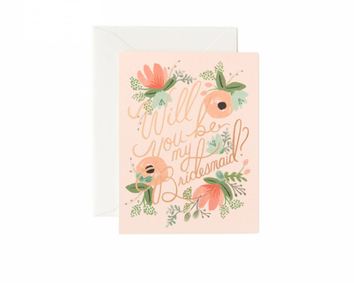 Will you be my bridesmaid notecard thumb