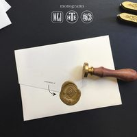 Custom wax seal stamp small