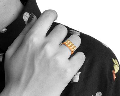 Lego uno ring thumb